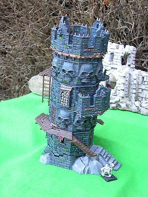 Warhammer Scenery , Wizard's Tower Painted