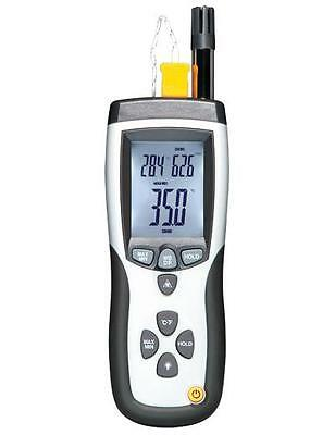 Psychrometer with InfraRed Thermometer
