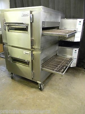 Lincoln Impinger Conveyor Double Stack Pizza Gas Oven 1450 **we Offer Financing*