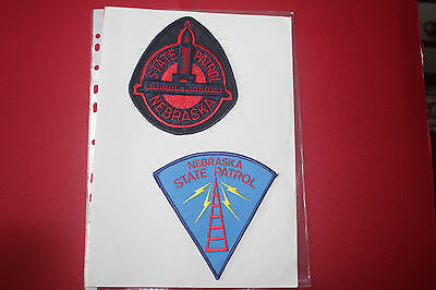 3 different Shoulder Patches from Nebraska State Patrol