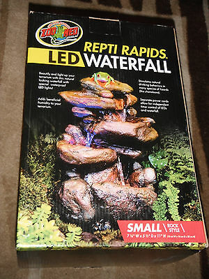 Zoo Med Repti Rapids Led Waterfall Brand New
