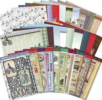HUNKYDORY Luxury Card Collection ~ CHARMING CHAPS (30 Sheets)