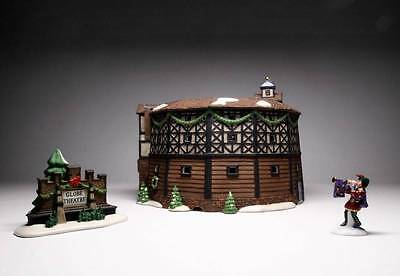 """Department 56 """"The Old Globe Theatre"""" Dickens Village With Original Box"""