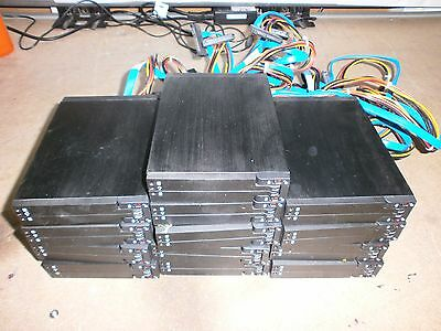 "Job Lot 14 X 2.5"" Hard Drive Hot Swap Enclosure Caddie With Connectors Inc-Vat !"