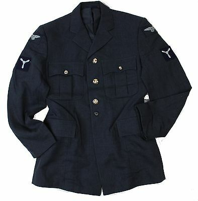 """(15) RAF ROYAL AIR FORCE NO1 DRESS JACKET with BADGES 36"""" CHEST"""