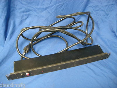 """Perma Power R8Bz-15 Surge Protector/bar 8-Port/outlet 15'wire 19"""" Rack Mount"""