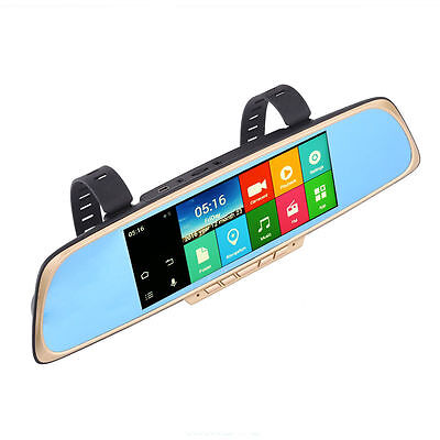 Dash Cam & GPS Navigation Mirror -Full HD Dash Cam, HD Parking Cam, Android,GPS