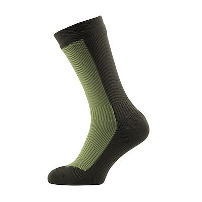 Hiking Mid Mid Socks - Olive Green / Green - Direct From Sealskinz UK