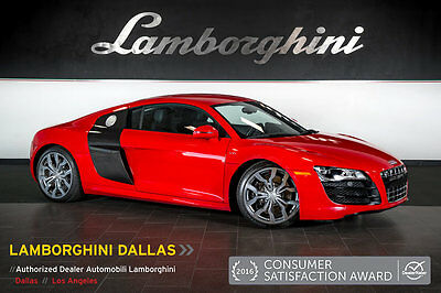 2011 Audi R8  CARBON FIBER BLADES+BANG & OLUFSEN+NAV+RR CAMERA+POWER/HEATED SEATS+CARBON INT