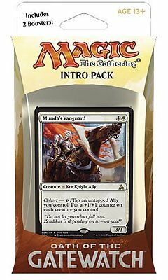 Magic the Gathering: Oath of the Gatewatch Intro Pack - Desperate Stand NEW