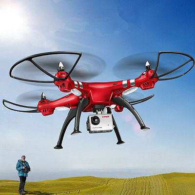 SYMA FPV Real-Time X8HG Drone - 6-Axis, Wi-Fi, FPV, Removable 8MP Camera, 1080p