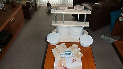 LARGE DOUBLE or SINGLE CHEESE PRESS for HOME MADE CHEESE