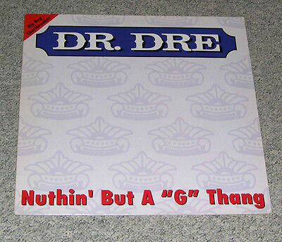 "Dr. Dre - Nuthin' But A ""G"" Thang (12"" Maxi/EP, Interscope 1992)"