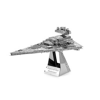 Star Wars Imperial Star Destroyer Ship 3D Metallic Puzzle Educational Puzzle Toy