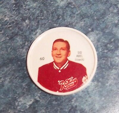 Shirriff coins Hockey 1960-61 # 60 Sid Able Detroit Red Wings lot # Feb