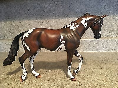 Peter Stone Custom Painted Thoroughbred OOAK Paint/Pinto Traditional Horse
