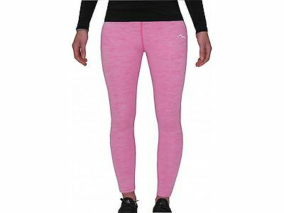 More Mile Heather Girls Junior Running Cycling Fitness Long Tights