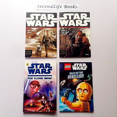 STAR WARS Children's Books ~ Force Awakens Clone Wars Rebellion. Sci Fi.