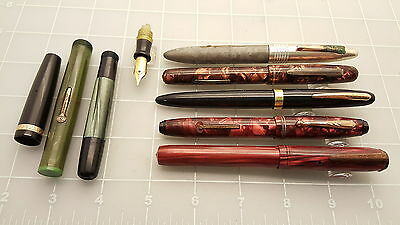 Judd's Lot of Vintage Pen Parts