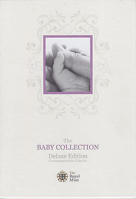 2010 Royal Mint - Great Britain Baby Collection - Deluxe Edition Coin Set