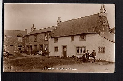 Kirkby Thore near Temple Sowerby - real photographic postcard