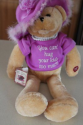 """NWT Chantilly Lane Pearl's Grandmother 19"""" T-Shirt You Can't Hug Your Kids too.."""