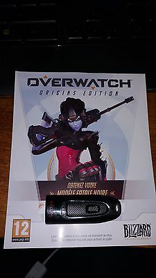 Widowmaker noire skin / fatale noire (overwatch collector) - PC edition