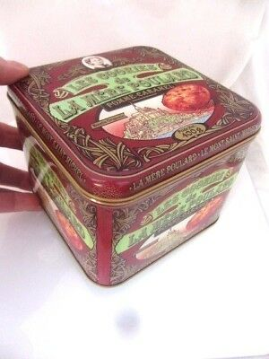BOITE METAL les cookies DE LA MERE POULARD, 2017 french cookies tin box