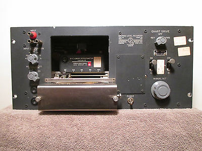 General Radio Co. Type 1521-A Graphic Level Recorder w/Manual