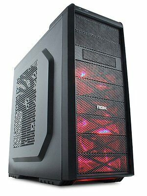Ordenador PC torre gaming AMD FX 8320 8GB 1TB Radeon R7 360 2GB GDDR5 Windows10