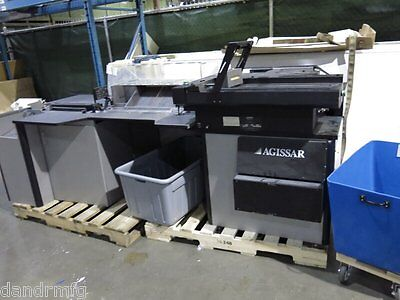As Is Agissar Rv-010 Mail Extractor / Pitney Bowes Postal Machine