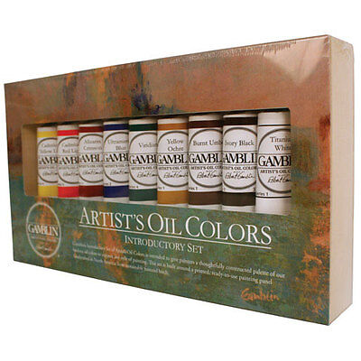 Gamblin - Artist's Oil Color Introductory Set GB101100