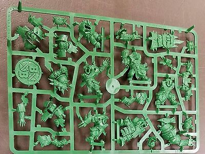 BLOOD BOWL 2016 edition 6 ORC TEAM Figures Booster Pack by Games Workshop new