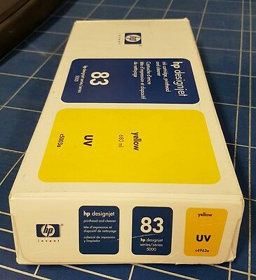 Hewlett Packard No83 UV Print Head and Cleaner Yellow C4963A
