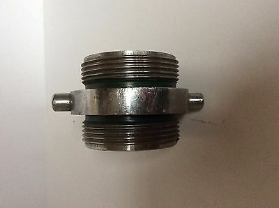 "2.5"" to 3"" Fire Hydrant Hose Threaded Connector - Extender - Coupler"