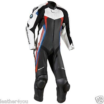 Bmw Mens Biker Motorcycle Leather Suit Moto Gp Motorbike Leather Jacket Trouser