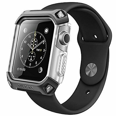 Apple Watch Premium Hybrid Protective Bumper 42mm Case Smartwatch Armor Cover