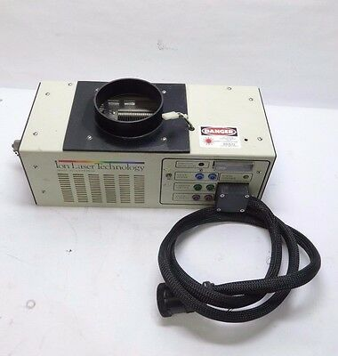 Ion Laser Technology 5425A-00C-2 Argon Ion Laser - Excites & Works