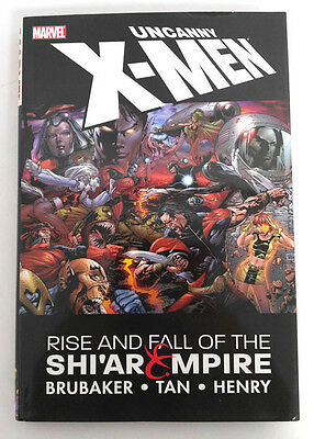 Marvel Comics X-Men Rise and Fall of the Shi'ar Empire Hardcover