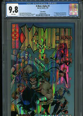 X-Men: Alpha #1 (Gold Edition)  CGC 9.8  White Pages