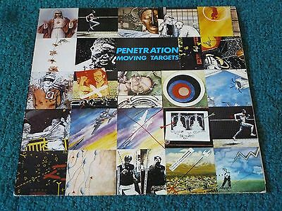 Penetration - Moving Targets Vinyl Punk/New Wave A2/B1