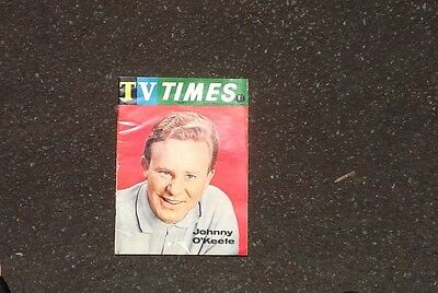 Johnny O'Keefe Front Cover TV Times March 3,1965.