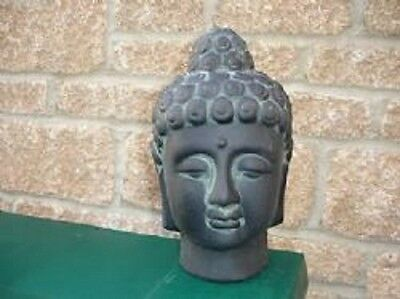 LATEX rubber MOULD MOLD  OF  buddha head , BUST