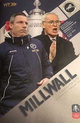 2016/17 - MILLWALL v LEICESTER CITY (FA CUP 5th ROUND - 18th February 2017)