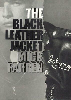 The Black Leather Jacket, Mick Farren, New Book