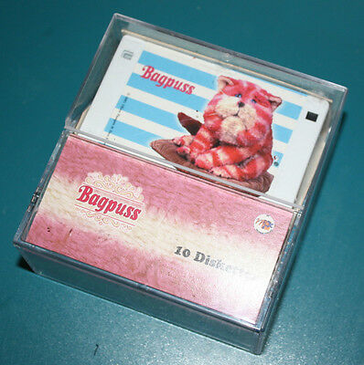 """Rare Collectable: BAGPUSS (Ten) (2x5 Characters) 3.5"""" Diskettes: OPEN TO OFFERS"""
