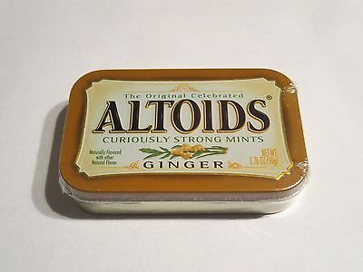 Ginger Altoids TIN - UNOPENED FACTORY SEALED - Discontinued
