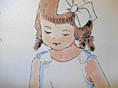 """Vintage """"dorothy Of 1908"""" Paper Doll & Clothes By Ellery Thorpe -Uncut"""