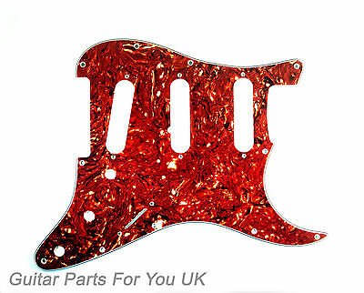 Tortoise 4 ply SSS scratch plate pick guard for stratocaster strat ST NEW