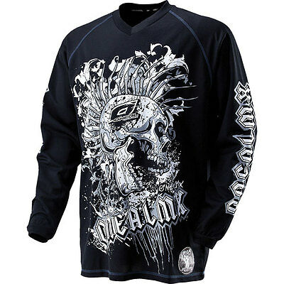 O'Neal Racing Apocalypse Punishment Jersey Motocross Black